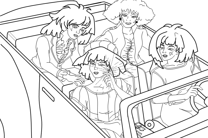 Jem and the Holograms Coloring