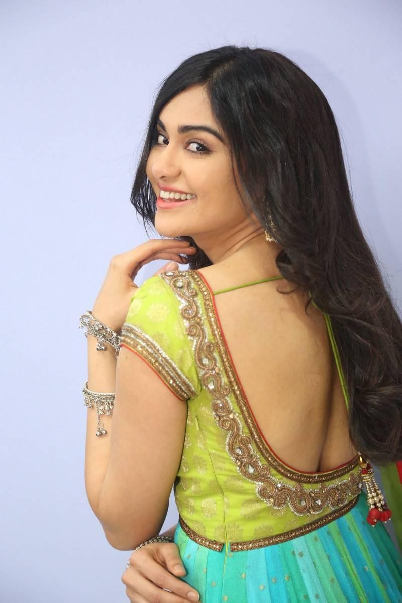 Adah Sharma Stills At Garam Movie In Yellow Dress