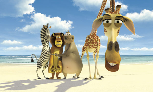 The animals on the beach in Madagascar animatedfilmreviews.filminspector.com