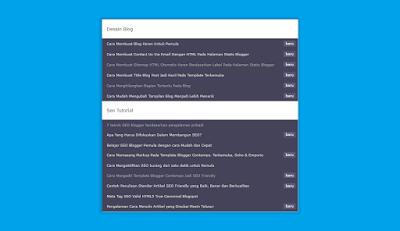 Cara Membuat Sitemap Otomatis Yang Keren Di Blog