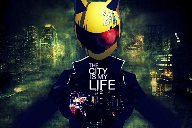 Photochop image of Celty