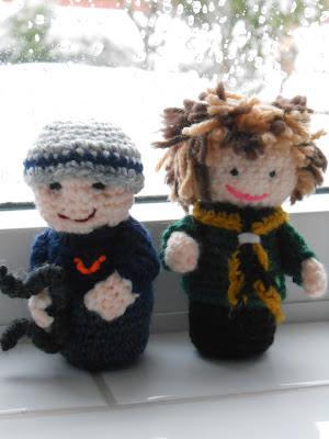 I crocheted an amigurumi family