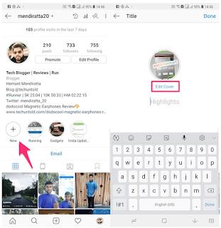 Nyesal Membuat Cover highlights ig, Begini Cara Edit Cover Highlights Instagram