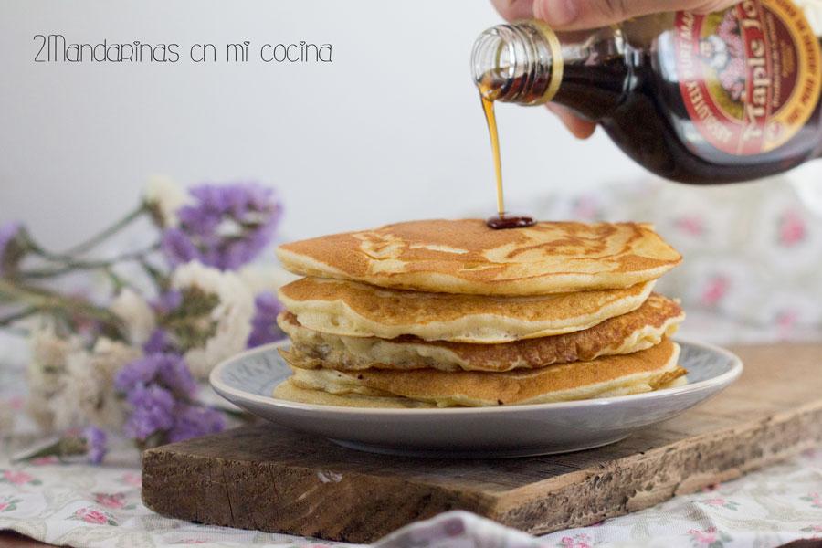 Receta de pancakes. Tortitas americanas con Thermomix