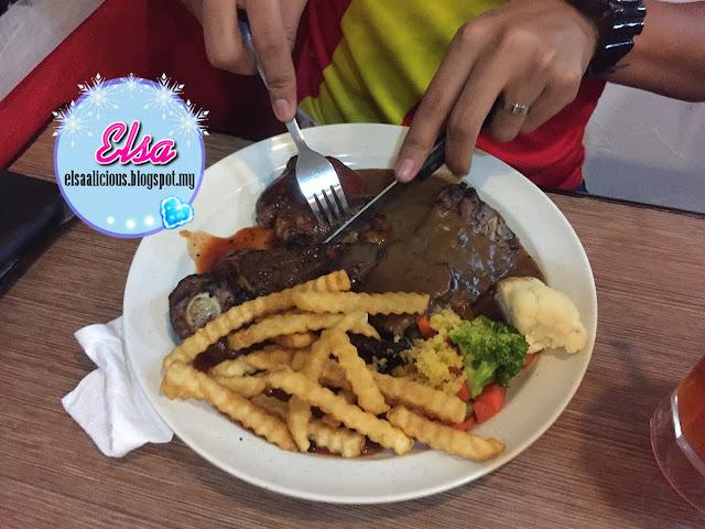 Food Review : Tree Steak House, Sungai Buloh
