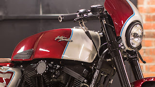 cafe racer became by hd helsingborg tank