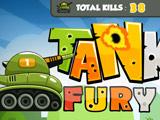 Rage of Tanks هي لعبة جديدة مثيرة للاهتمام عبر الإنترنت للأولاد الذين يحبون معارك الدبابات. هدفك بسيط - دمر أكبر عدد ممكن من دبابات العدو
