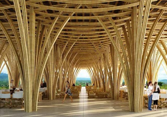 cubiertas de bambu