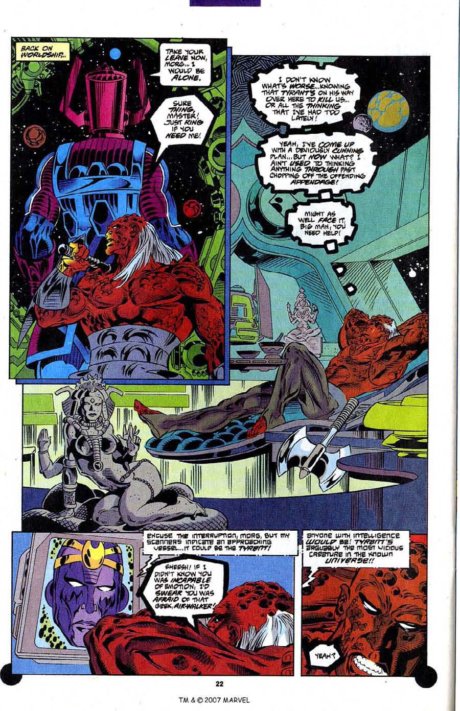 Read online Silver Surfer (1987) comic -  Issue #106 - 24