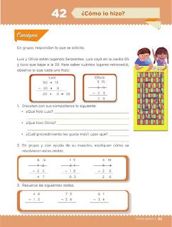 Apoyo Primaria Desafíos matemáticos 3ro. Grado Bloque III Lección 42 ¿Cómo lo hizo?