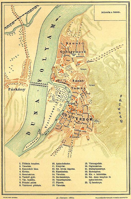 esztergom hajóállomás térkép Dunai Szigetek: 2011 esztergom hajóállomás térkép