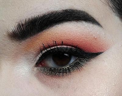 Tuto Makeup Sweet Peach Palette