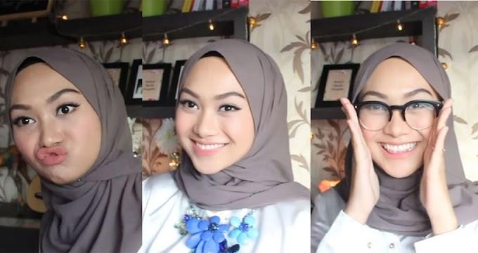3 Simple Hijab Style Buat Kamu Tetap Kece