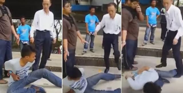 Video Sadis! Pria Mata Sipit Siksa Bocah WNI dan Main Hakim Sendiri, Wajahnya Ditendang Berkali-kali : kabar Terhangat Hari Ini
