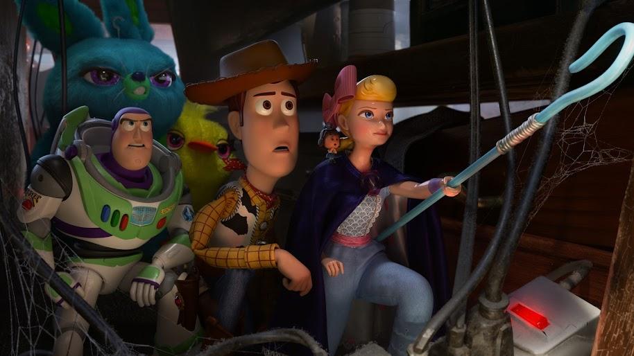 Toy Story 4 Woody Bo Peep Buzz Lightyear Bunny Ducky 8k
