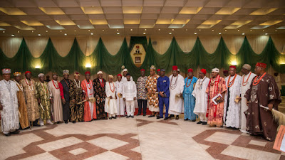 South East, News, Traditional rulers, Acting president Osinbajo, Presidential Villa,