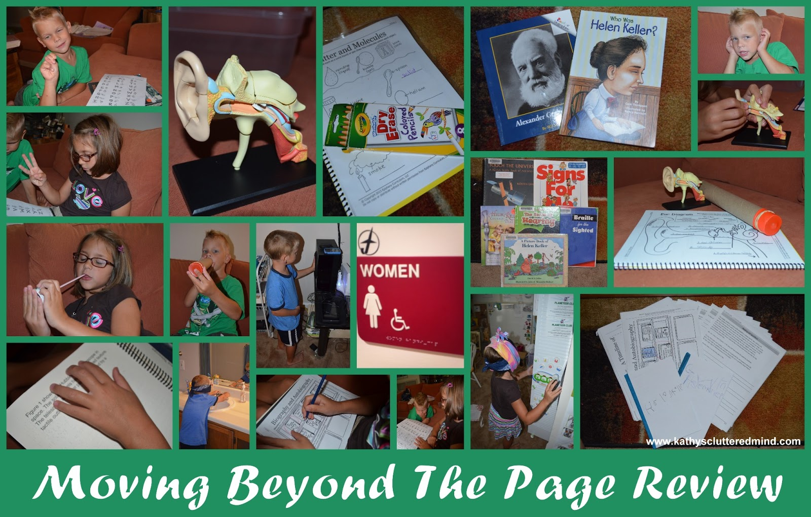 Kathys Cluttered Mind Moving Beyond The Page Review