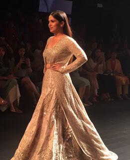 Bhumi Pednekar Looks Gorgeous As She Walks The Ramp At The Lakme Fashion Week 2016