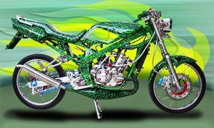 gambar Modifikasi Motor Kawasaki Ninja