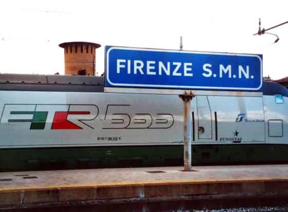 Estação Firenza Santa Maria Novella