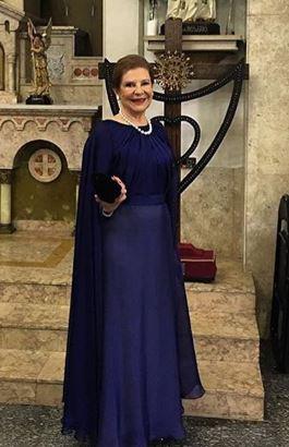 Dona Donatinha avó de Helena Bordon, casamento