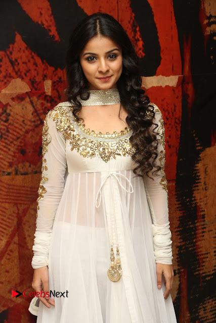 Telugu Actress Mahima Makwana Stills in White Desginer Dress at Venkatapuram Movie Logo Launch  0035.JPG