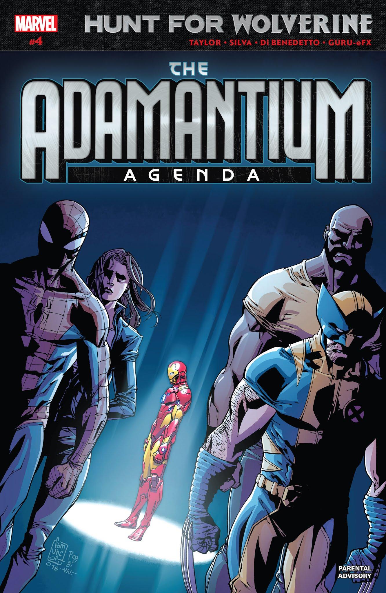 Hunt for Wolverine: Adamantium Agenda  4 Page 1