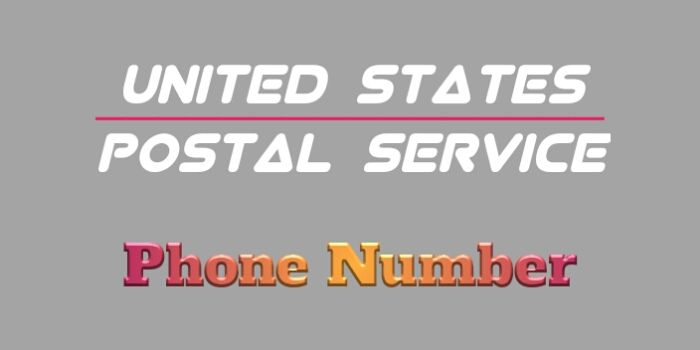 Call USPS Number । About USPS Customer Service Number And