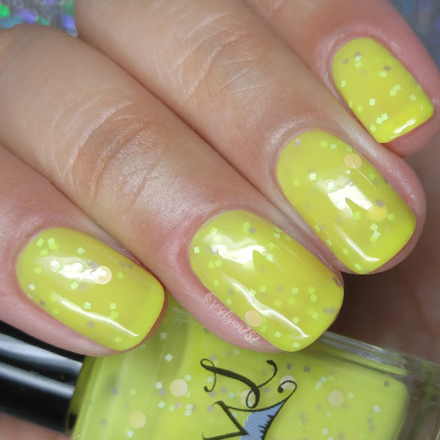 Smokey Mountain Lacquers - Yellow To Four Years