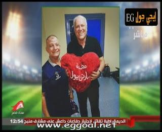 فرجة جنونية من لاعبى الاهلى داخل غرفة خلع الملابس بالفوز بالدورى المصرى 2016
