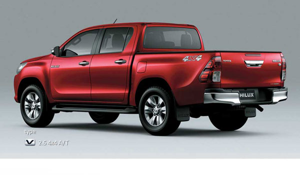 exterior all new toyota hilux double cabin