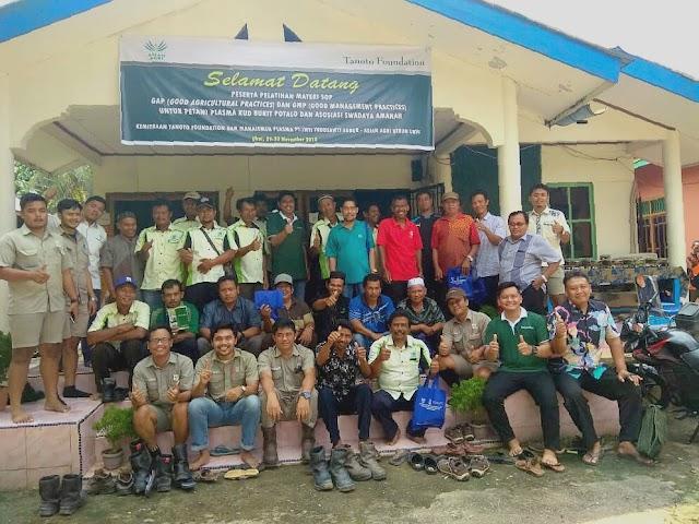 KUD Bukit Potalo dan Asosiasi Swadaya Amanah Ikuti Pelatihan Penyegaran Materi GAP-GMP yang ditaja SPOI Project Tanoto Foundation