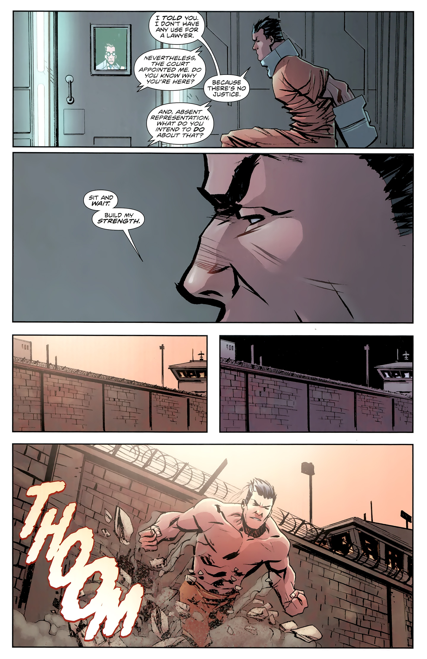 Read online Incorruptible comic -  Issue #26 - 14