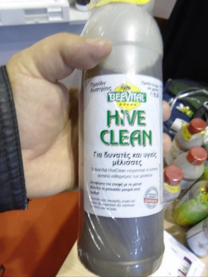 HIVE CLEAN κατά της βαρρόα όλο το χρόνο: Βιολογικό προιόν