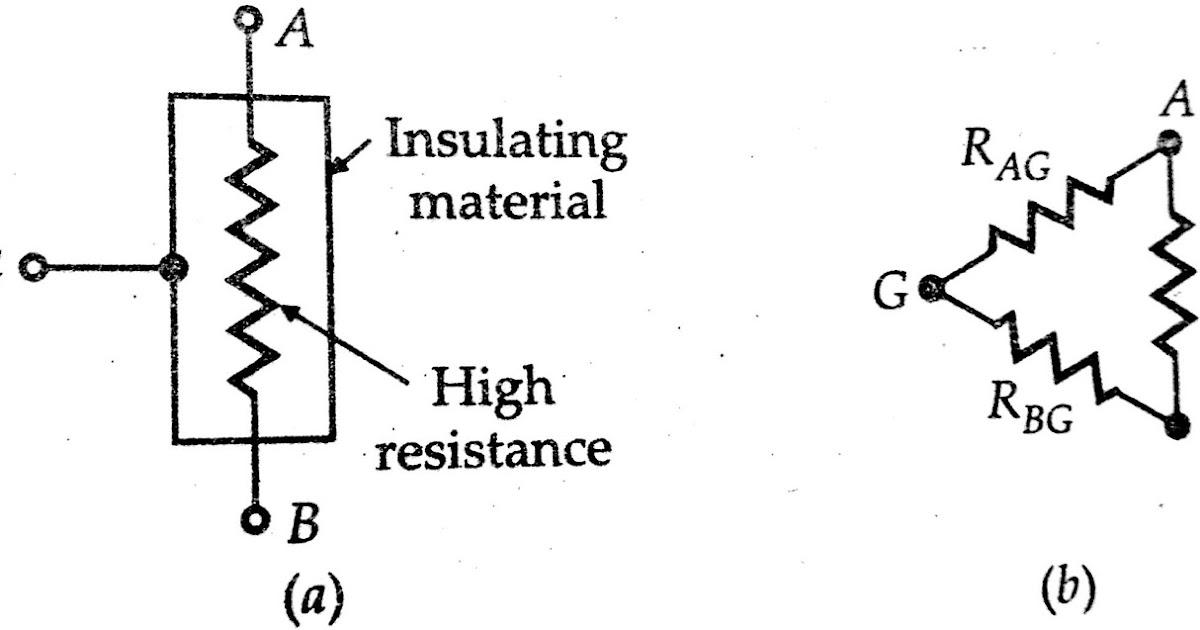 Measurement Of High Resistance By Megohm Bridge Method