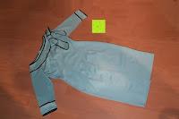 vorne: MODETREND Damen Kleider mit Bogen 1/2-Arm Etui Elastisch Tulpenkleid Wort Schulter Partykleider Bleistiftrock Abendkleid Casualkleider
