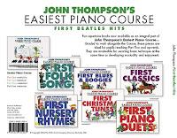 easiest piano course john thompson