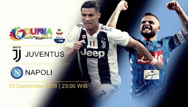 Link trực tiếp Juventus vs Napoli, 23h00 ngày 29/9 (Vòng 7 Serie A 2018/19)