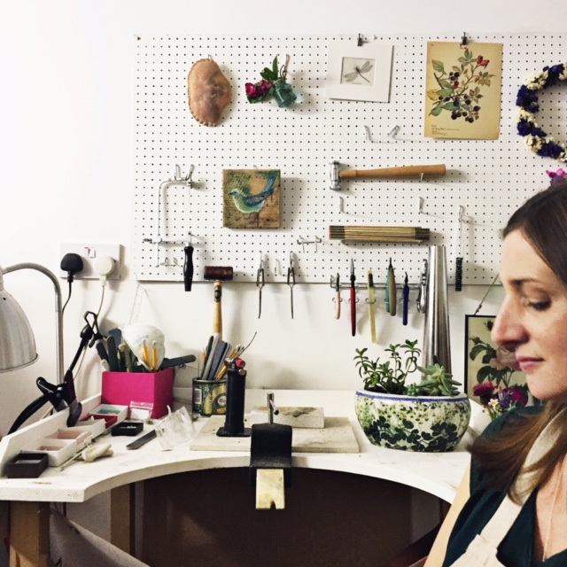 Kate Harvey, Grace and Flora, Jewelry Designers, Nature, Artist Interviews, My Giant Strawberry, Anne Butera