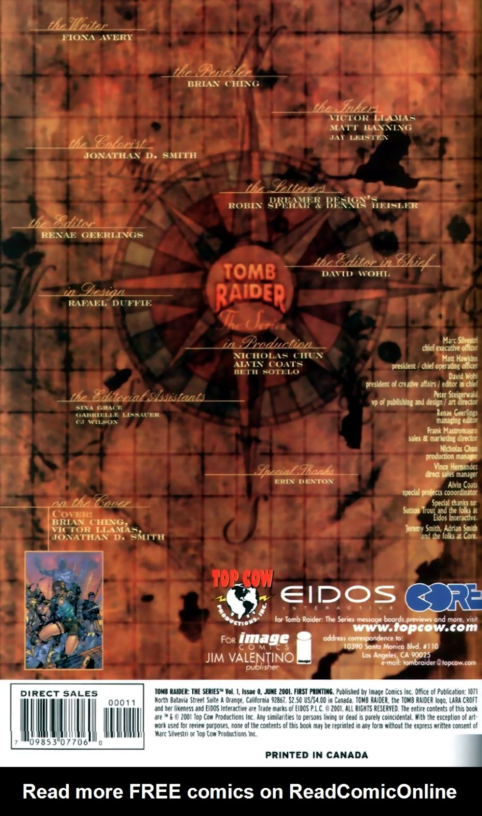 Read online Tomb Raider: The Series comic -  Issue #0 - 2