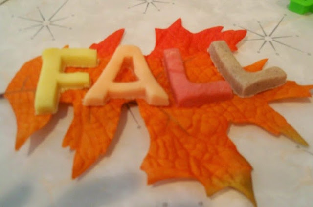 Fall play dough for preschool