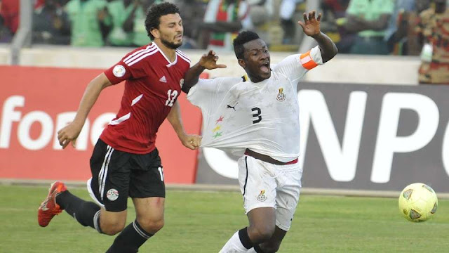 Egypt vs Ghana LIVE TV - World Cup Qualifiers