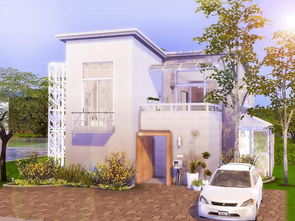 Sims 4 Minimalist Home  極簡現代宅
