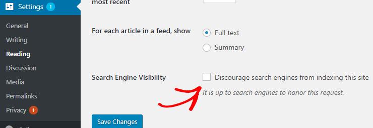 visibilitas mesin pencari