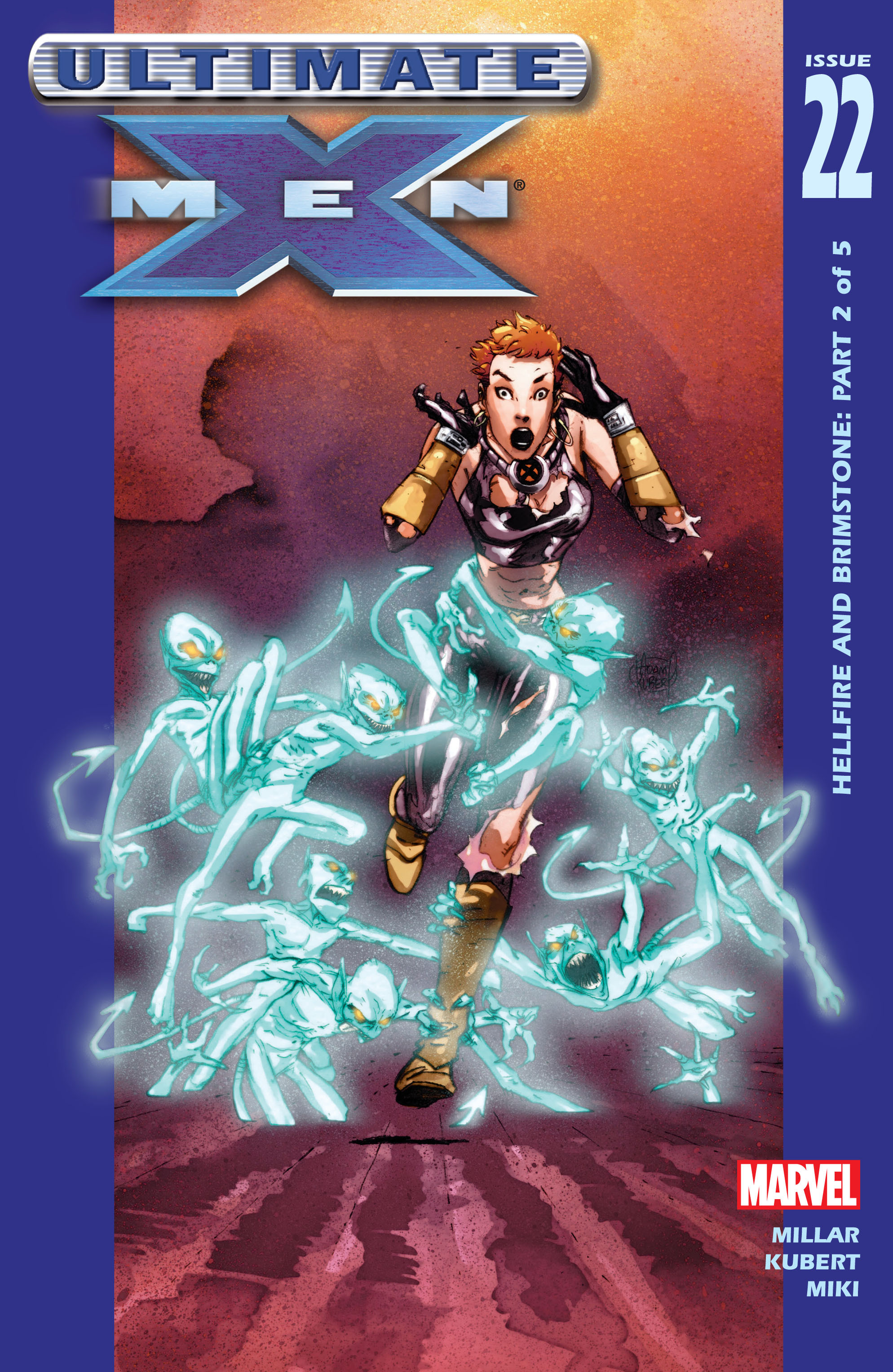 Read online Ultimate X-Men comic -  Issue #22 - 1