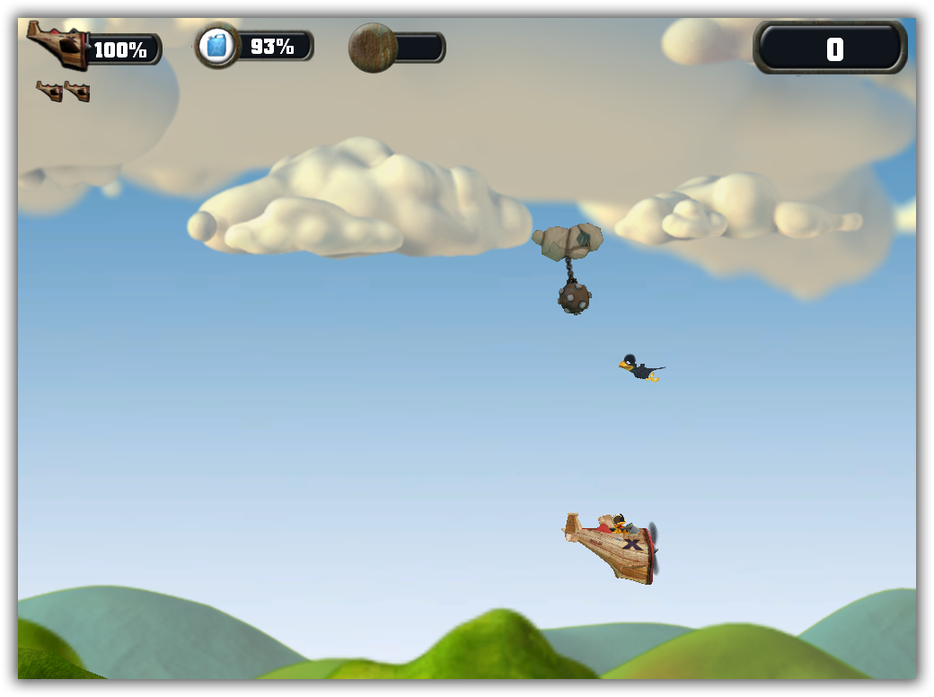 Crazy Chicken SkyBotz - Katılımsız Oyun