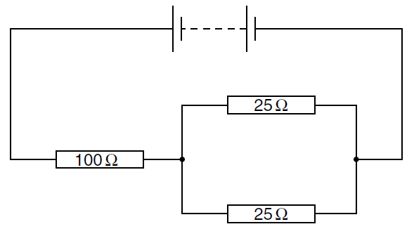 image for 2 what is the equivalent resistance of the circuit shown
