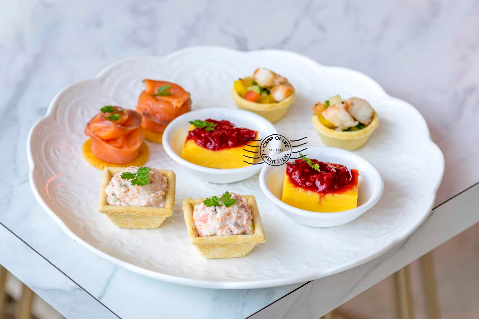 Crumbles & Cream High Tea Set & Newly Launched Ala Carte Menu @ Iconic Hotel, Penang