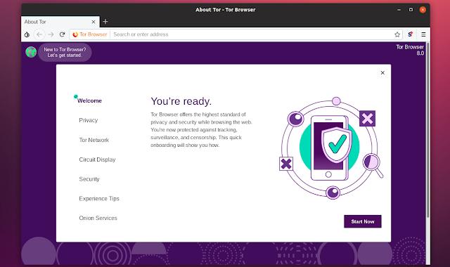 تفعيل تقنية الـ Tor Browser على متصفح موزيلا فايرفوكس والدخول للأنترنت المظلم  ومنع المواقع من تتبعك