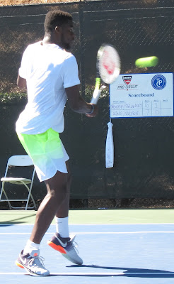 Pals Tiafoe, Kudla advance in Stockton Challenger